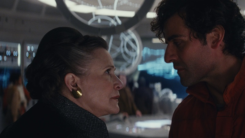Leia and Poe Dameraon SW com